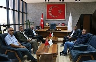 Vekil Aydınlık OSB Müdürü Oktay'ı ziyaret etti