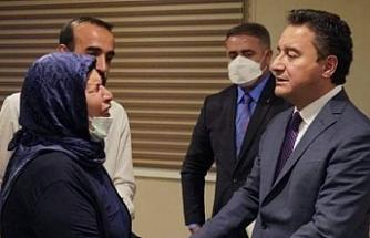 Babacan, Urfa'da Şenyaşar ailesiyle görüştü