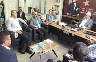 CHP'li vekiller Urfa temaslarını sürdürüyor