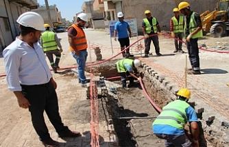 DEDAŞ'tan Suruç'a 14 milyonluk yatırım