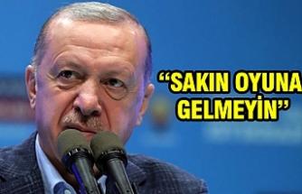 Erdoğan'dan memurlara bir mesaj daha