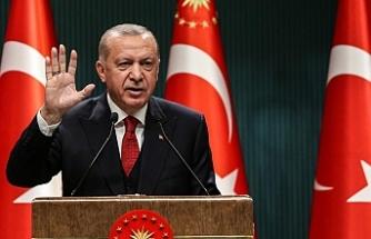 Erdoğan kabine sonrası konuştu