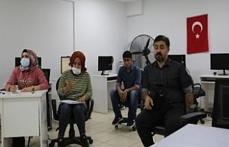 Haliliye'de engellilere KPSS kursu veriliyor