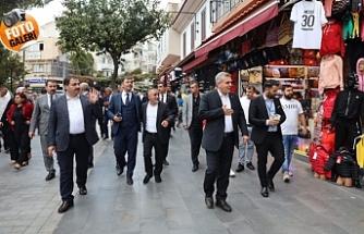 İzmir'de ki Urfalıları ziyaret ettiler