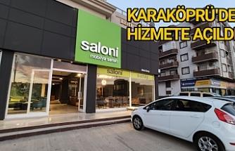 Sunay, Saloni mağazasını Urfa'ya kazandırdı