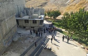 Urfa'da inşaat işçileri arasında silahlı kavga!