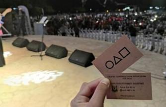 Urfa'da ölümlü oyun kartları dağıtıldı