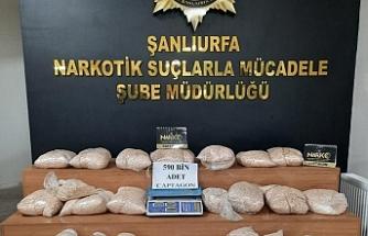 Urfa'da uyuşturucu operasyonu! 2 kişi tutuklandı