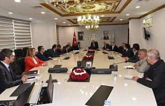 Urfa'da yılın toplantısını yaptılar