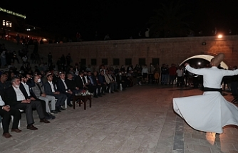 Urfa'da Mevlid Kandili kutlandı