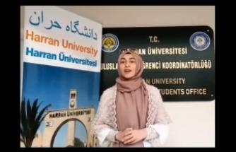 Urfalı öğrenci Merve, Bakanlığı projesine aday oldu