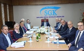 Üst yönetim Urfa'da toplandı