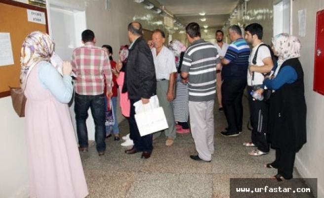 Urfa'ya gelen öğretmenler tepkili