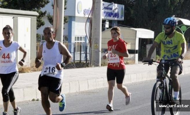Urfa'da nefes kesen yarış...