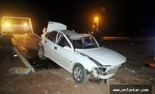 Akçakale yolunda kaza: Ölü ve yaralılar var