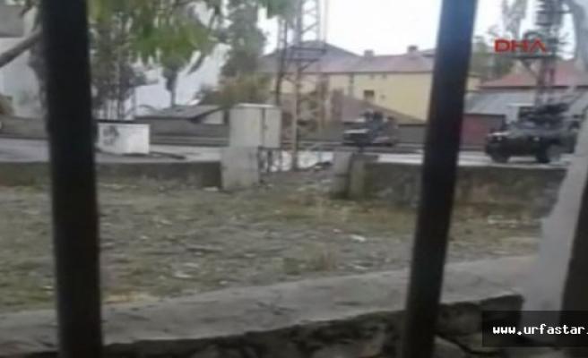 Askeri konvoya ateş açıldı; 1 Şehit