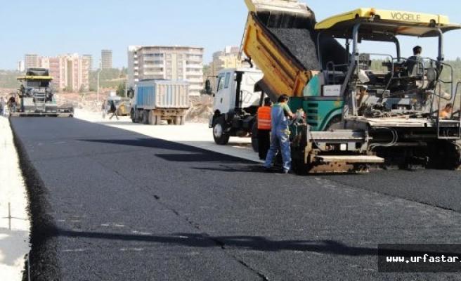 Karaköprü'ye yeni bir cadde...