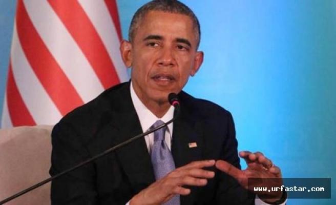 Obama: Kürt güçlerini desteklemek lazım