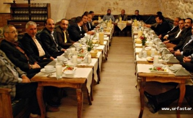 ŞUTSO meclis üyeleri kaynaşma yemeğinde bir araya geldi