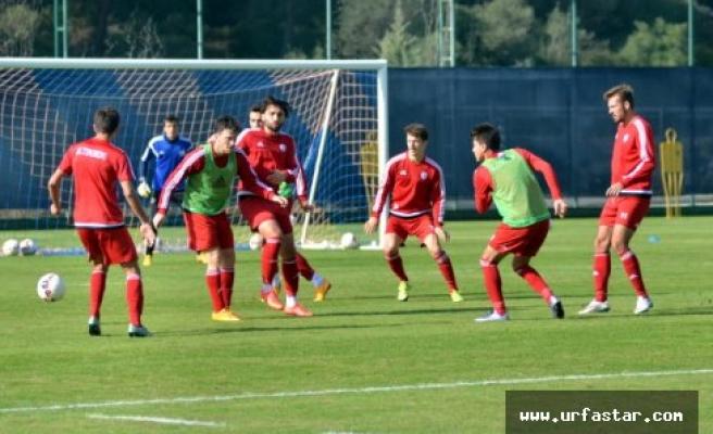 Altınordu, Urfaspor maçına taktik çalıştı