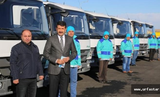 Eyyübiye Belediyesi araç filosunu büyütüyor