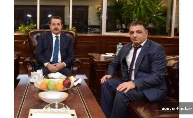 Faruk Çelik'ten Urfaspor'a tam destek