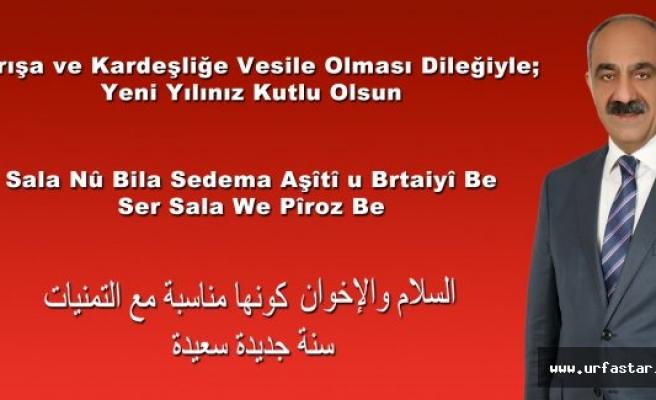 Hilvan Belediye Başkanı Bayık'tan Yeni Yıl Mesajı