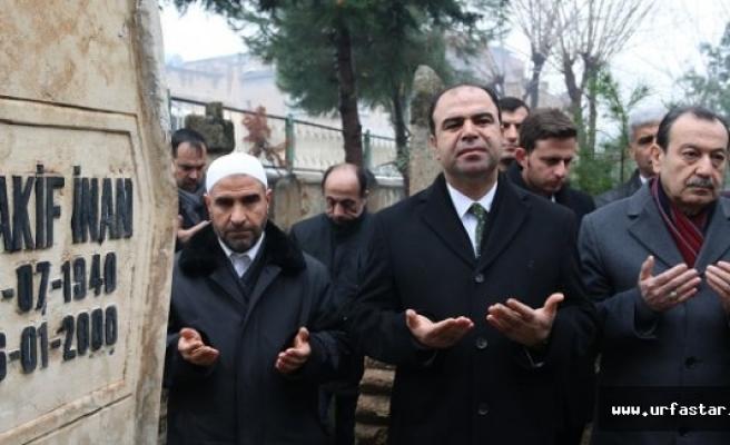 Mehmet Akif İnan dualarla anıldı