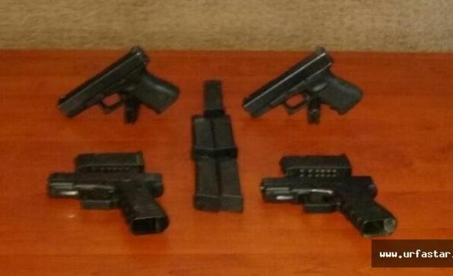 Silah ticareti yaparken yakalandılar