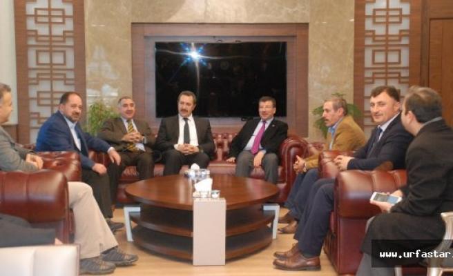 ŞUTB, Milletvekili Cevheri'yi Ağırladı