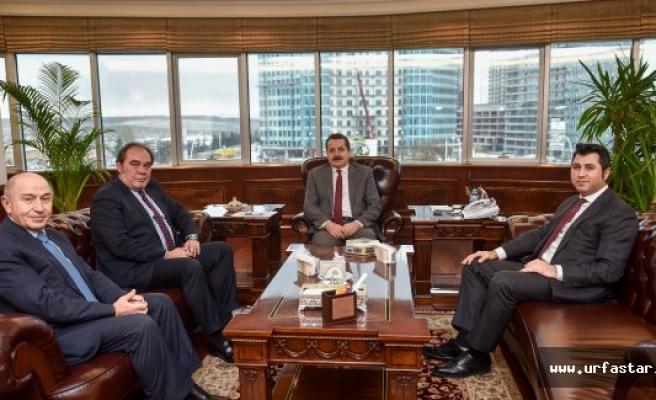 Türkiye Futbol Federasyonundan Çelik'e ziyaret