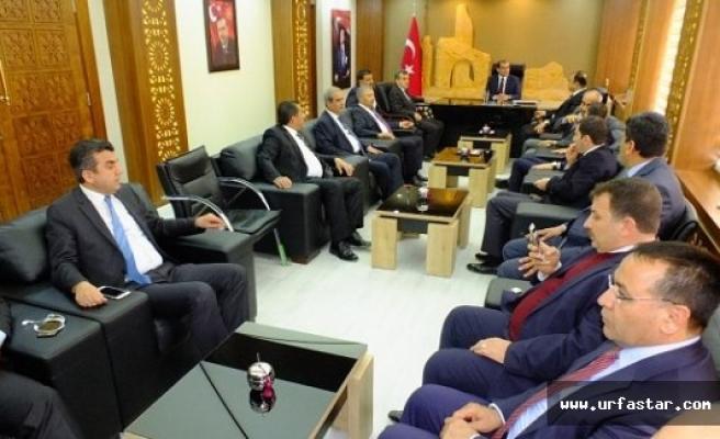 AK Başkanlar Harran'da toplandı