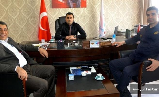 Atilla'dan Başhekim Bülbüloğlu'na ziyaret