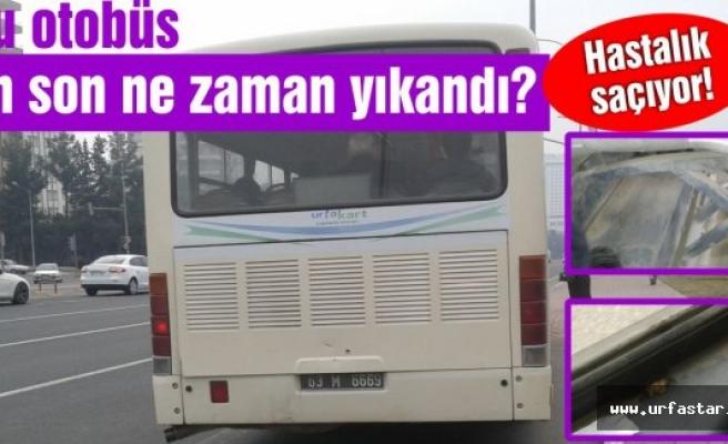 Bu otobüs ne zaman yıkandı?