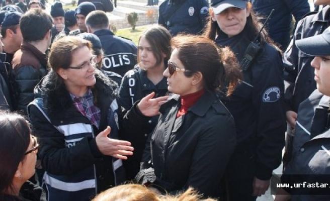 Polis HDP'lilere izin vermedi