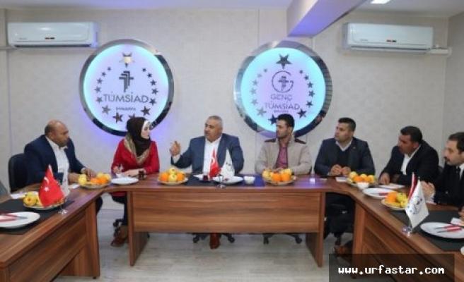 TÜMSİAD Suriyelilere öncülük yapacak