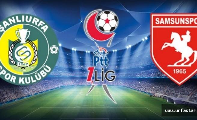 Urfaspor-Samsunspor maçıyla ilgili flaş gelişme...