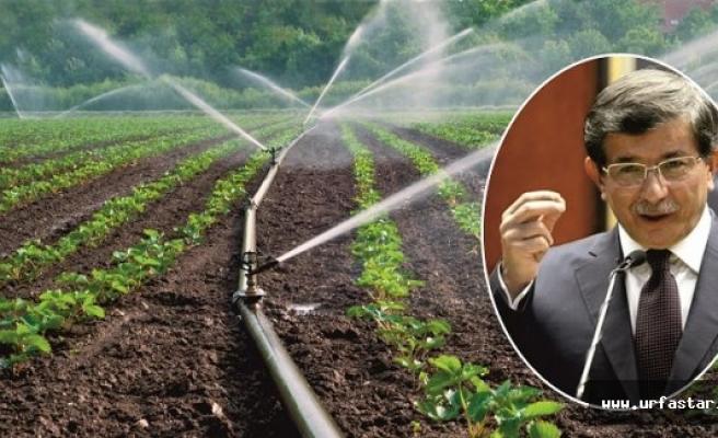 Çiftçinin sorunu Davutoğlu'na iletilecek