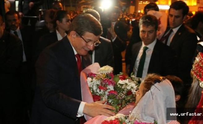 Davutoğlu Urfa BŞB'sinde
