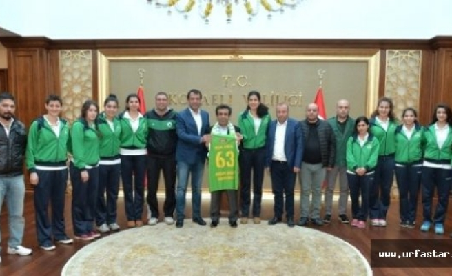 MSK Urfa, Urfalı Valiyi ziyaret etti