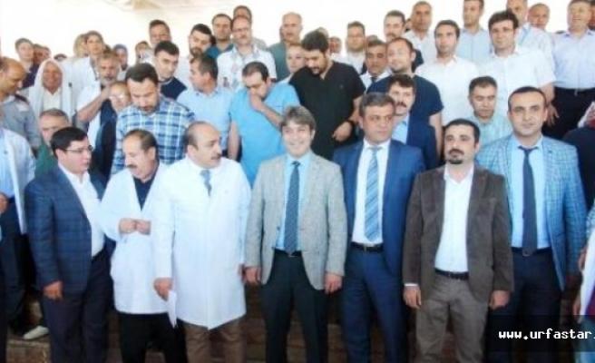 Urfa'da doktoru tartakladılar