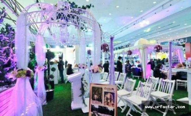 Urfa'da düğün fuarı başlıyor
