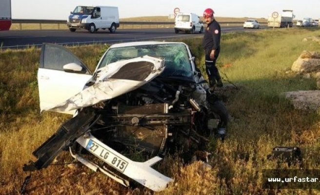 Urfa'da feci kaza: 7 yaralı