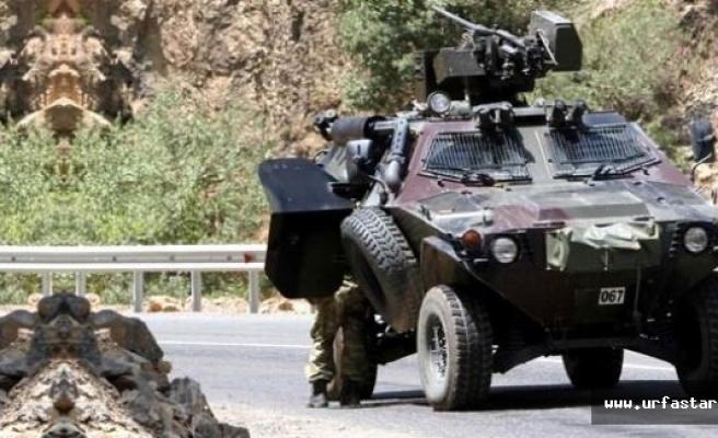 Zırhlı araca Hain Saldırı