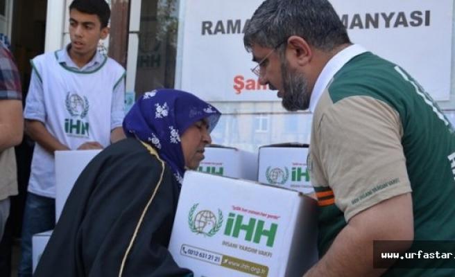 250 Aileye ramazan yardımı yapıldı