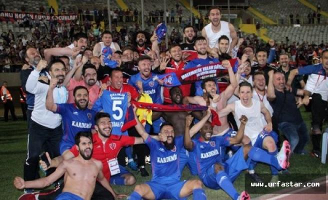 Karabükspor Süper Lig'de...