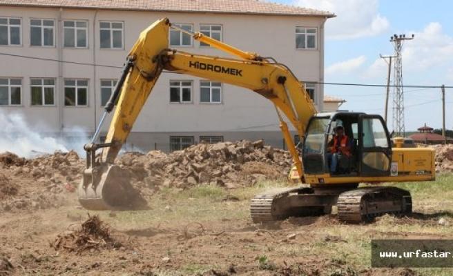 O mahallede kültür evinin temeli kazıldı