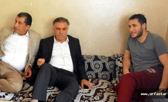 Sur Gazisi İyigün'ü ziyaret ettiler