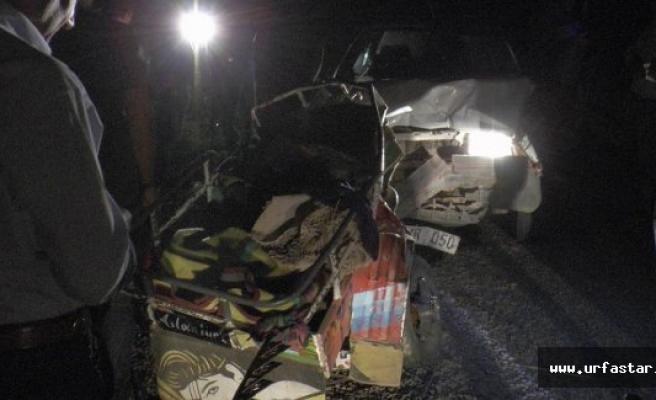 Urfa'da gece yarısı feci kaza!