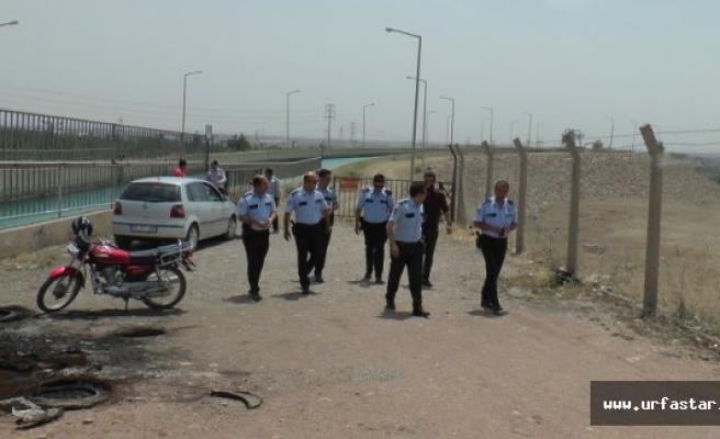 Urfa'da intihar girişimi..